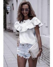 Блуза - код 753 - бело