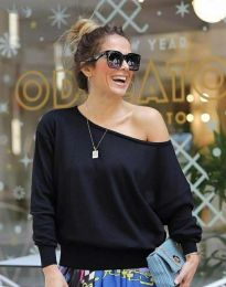 Блуза - код 7067 - 1 - црна