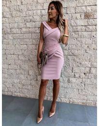 Фустан - код 1104 - розова