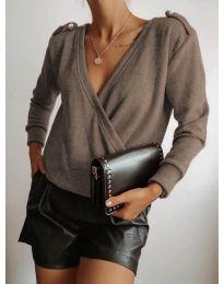 Блуза - код 294 - капучино