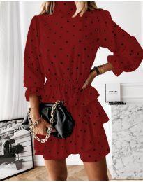 Фустан - код 3665 - црвена