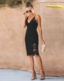Фустан - код 4580 - 1 - црна