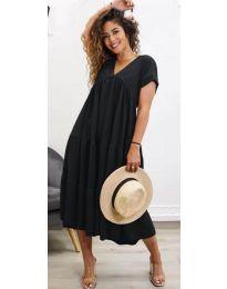 Фустан - код 4475 - црна