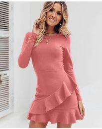 Фустан - код 2909 - пудра
