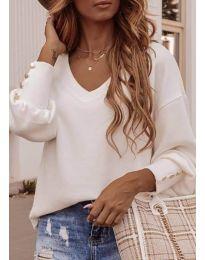 Блуза - код 812 - бело
