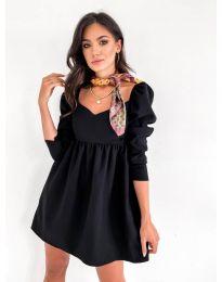 Фустан - код 390 - црна