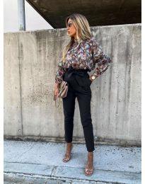 Панталони - код 788 - црна