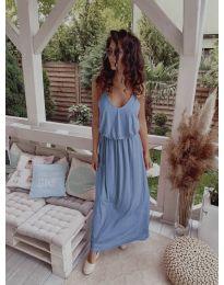 Фустан - код 635 - светло сина