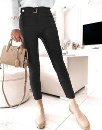 Панталони - код 1567 - 4 - црна