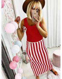 Фустан - код 5544 - црвена
