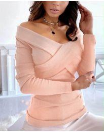 Блуза - код 0308 - праска