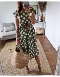 Фустан - код 1415 - зелена
