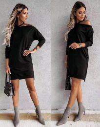 Фустан - код 8858 - црна