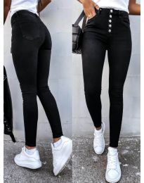 Фармерки - код 4126 - 1 - црна
