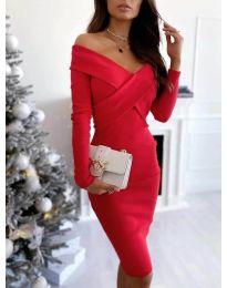Фустан - код 6130 - црвена