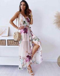 Фустан - код 4800 - 1 - шарена