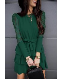 Фустан - код 8384 - путер зелена