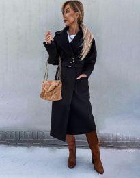 Палто - код 3784 - црна