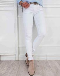 Панталони - код 0325 - 1 - бело