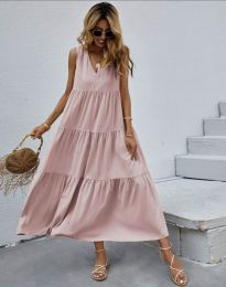 Фустан - код 8149 - розова