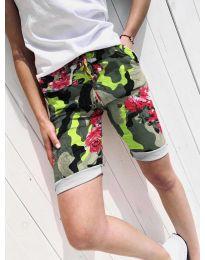 Кратки панталони - код 5077-1 - шарена