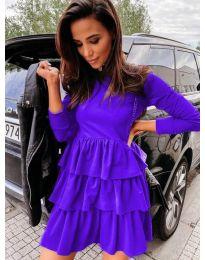 Фустан - код 3109 - виолетова