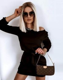 Фустан - код 12038 - црна