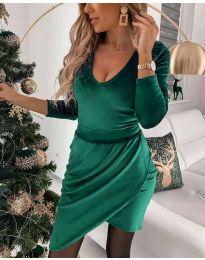 Фустан - код 2129 - зелена