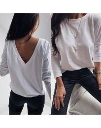 Блуза - код 3330 - бело