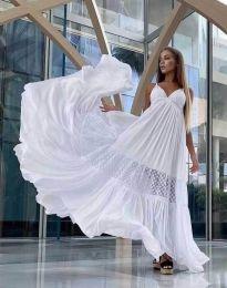 Фустан - код 6838 - бело
