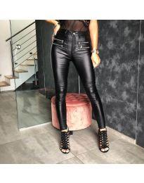 Панталони - код 4543 - 1 - црна