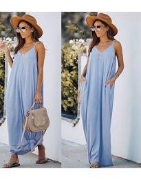 Фустан - код 0209 - светло сина