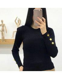 Блуза - код 6669 - црна
