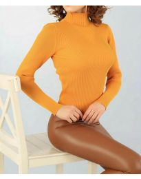 Блуза - код 3800 - окер