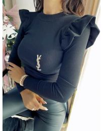 Блуза - код 0142 - црна