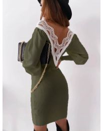 Фустан - код 1718 - путер зелена