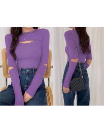 Блуза - код 0566 - виолетова