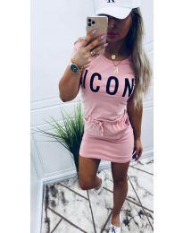 Фустан - код 9905 - розова