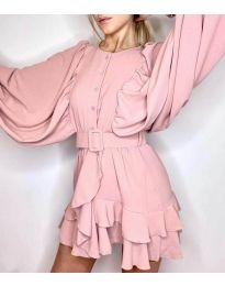 Фустан - код 6299 - розова