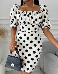 Фустан - код 3375 - 1 - бело