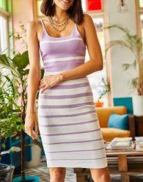 Фустан - код 0998 - виолетова