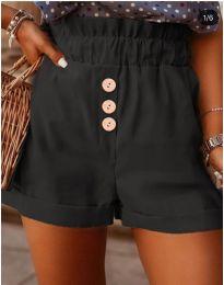 Кратки панталони - код 9383 - црна