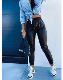 Панталони - код 9504 - 1 - црна