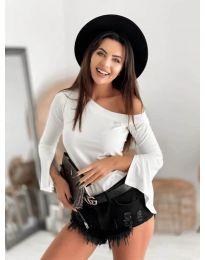 Блуза - код 8353 - бело