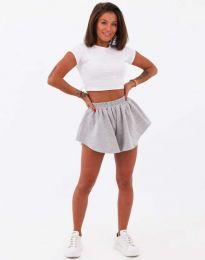 Кратки панталони - код 11979 - сиво