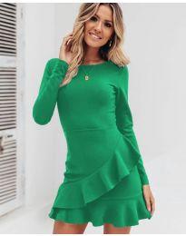 Фустан - код 2909 - зелена