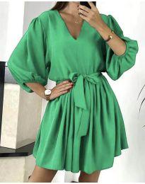 Фустан - код 6210 - зелена