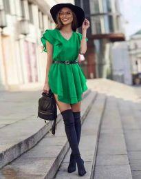 Фустан - код 6852 - зелена