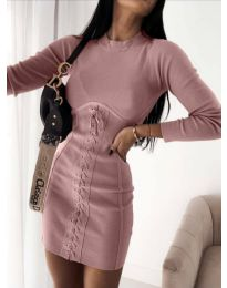 Фустан - код 4453 - 1 - пудра