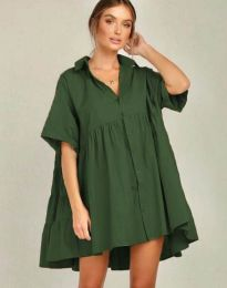 Фустан - код 6464 - путер зелена